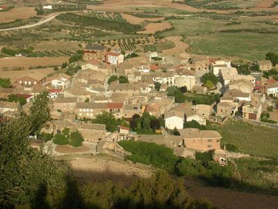 Vista panoramica pueblo